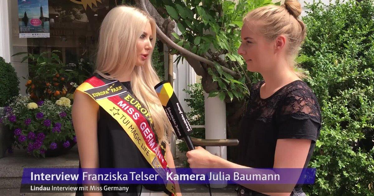 Interview mit Miss Germany | Regio TV