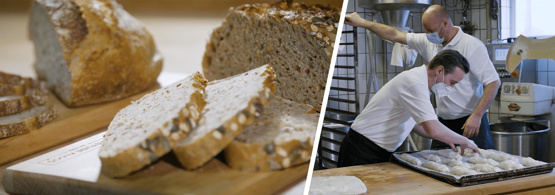 DER PRAKTIKANT beim Bäcker