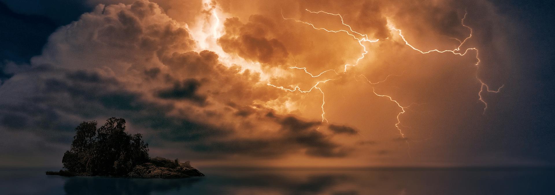 Risiko für Gewitter und Starkregen auch zukünftig erhöht