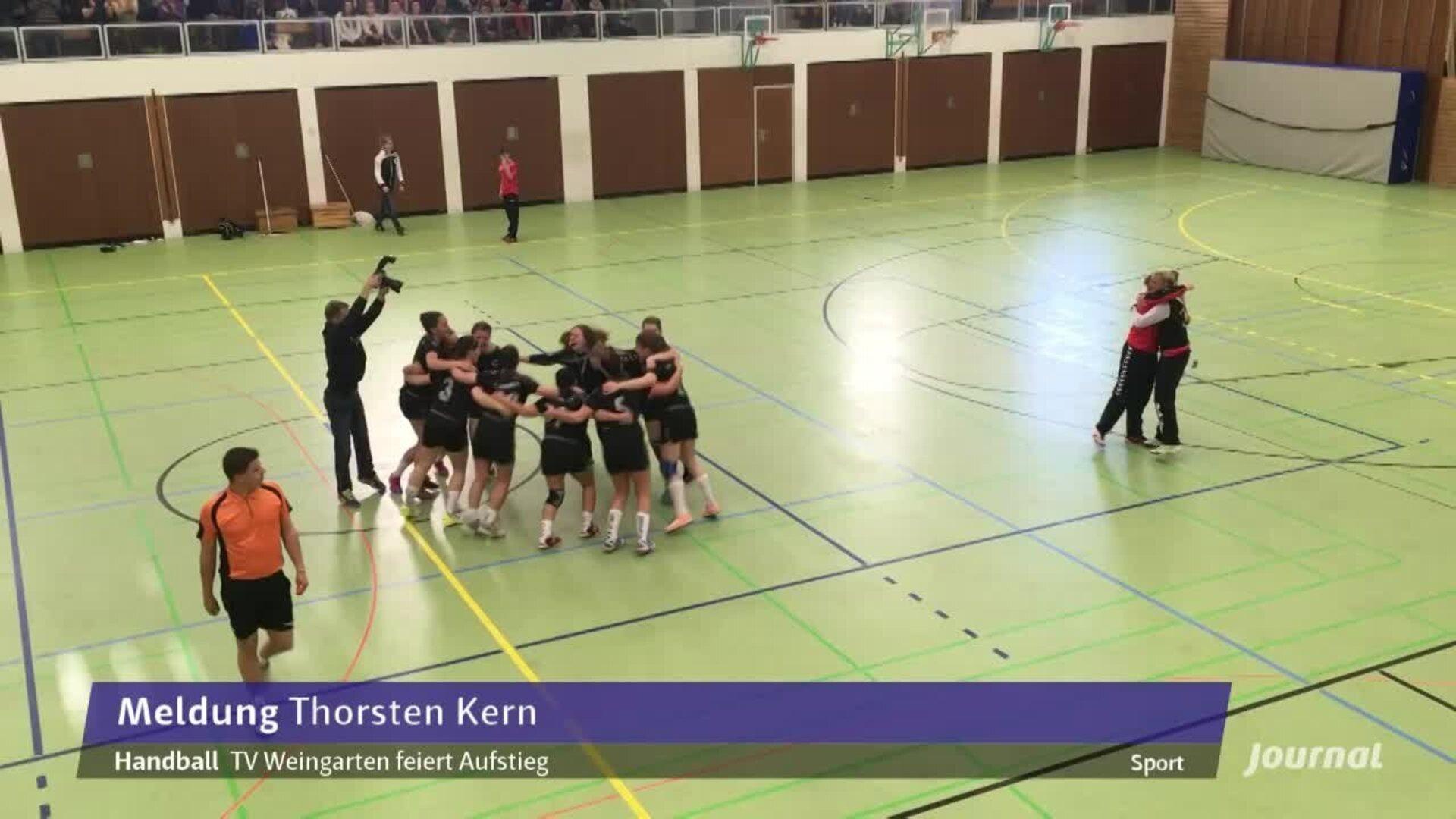 tv weingarten handball