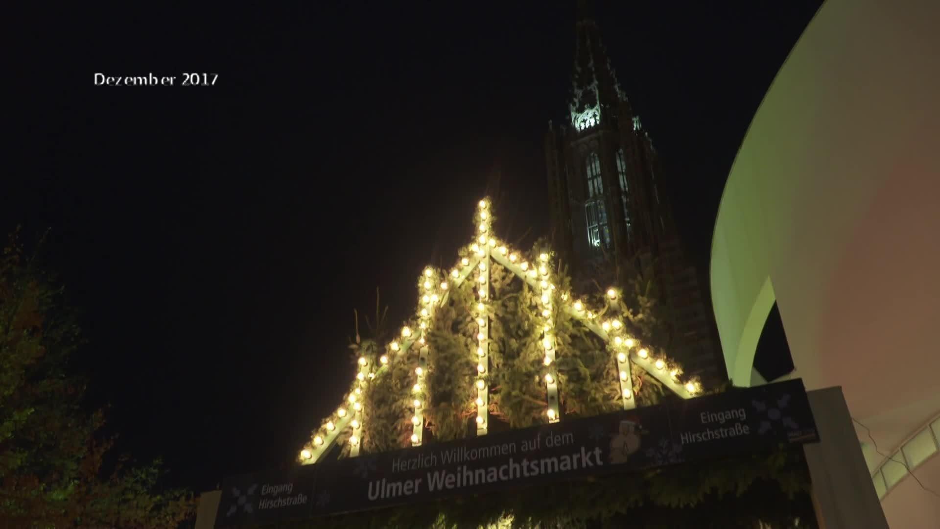 Ulm Weihnachtsmarkt.Weihnachtsmarkt In Ulm Kurz Vor Eröffnung Regio Tv