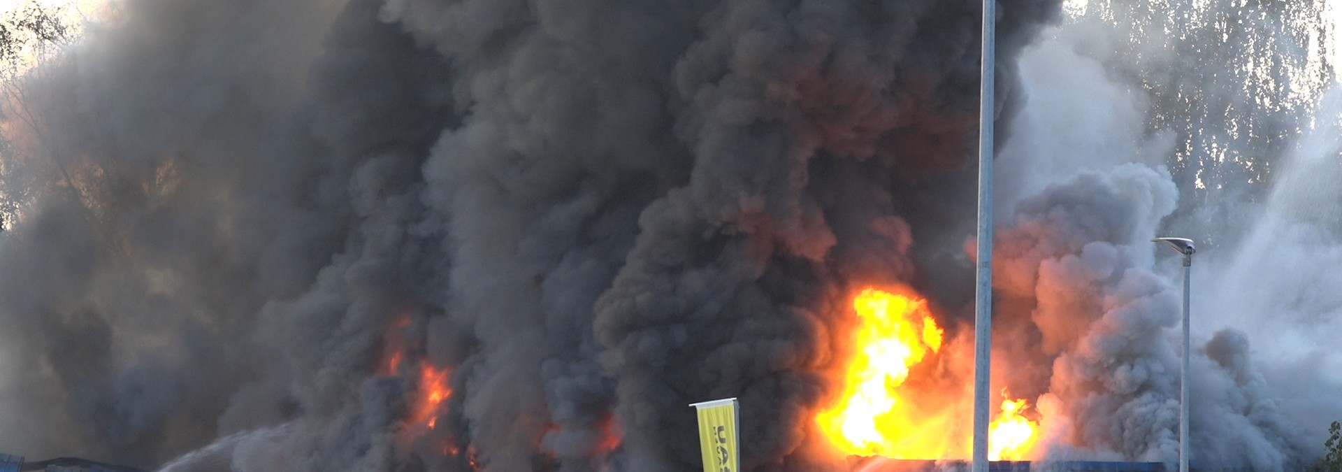Großbrand in Remshalden
