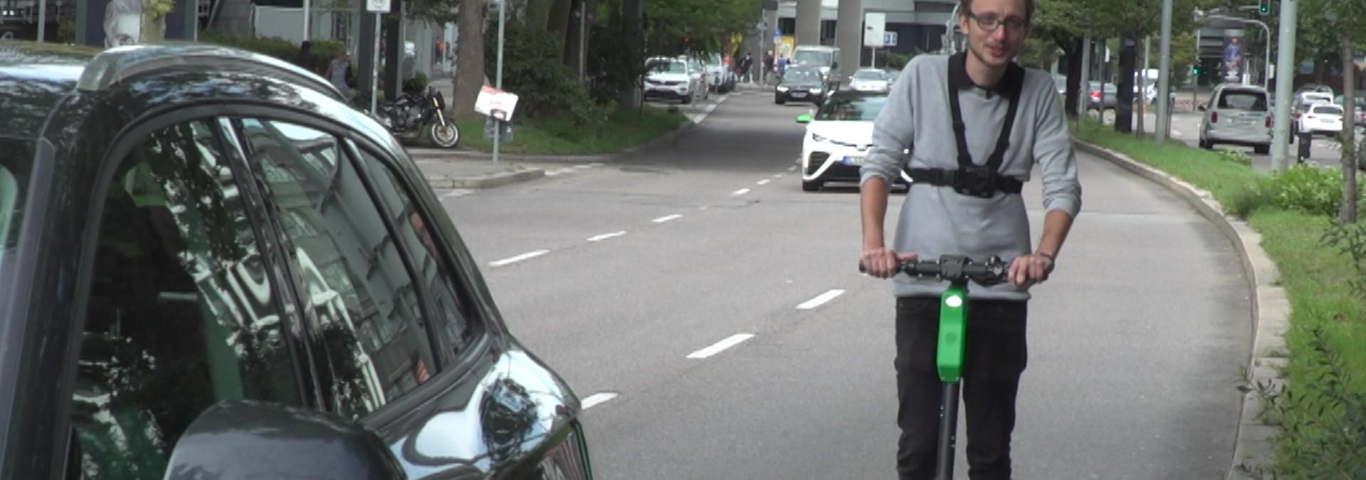 E-Scooter jetzt auch in Stuttgart