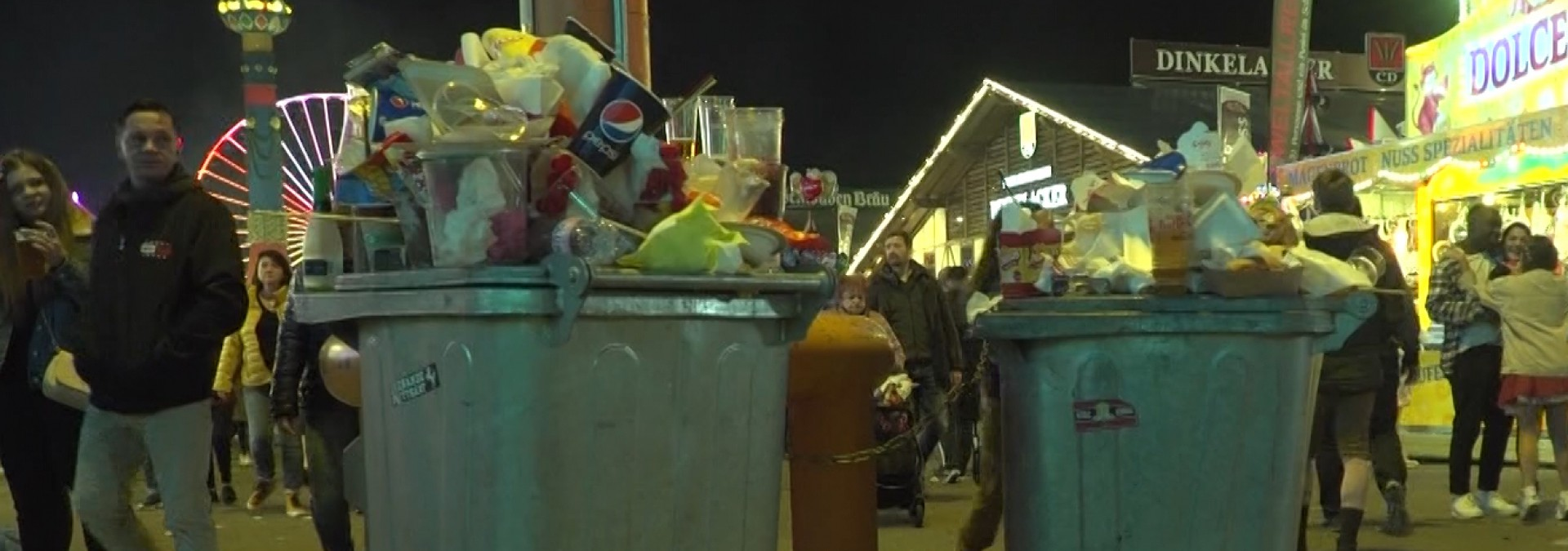 Alles Isi auf dem Wasen - Wie umweltfreundlich ist das Volksfest?