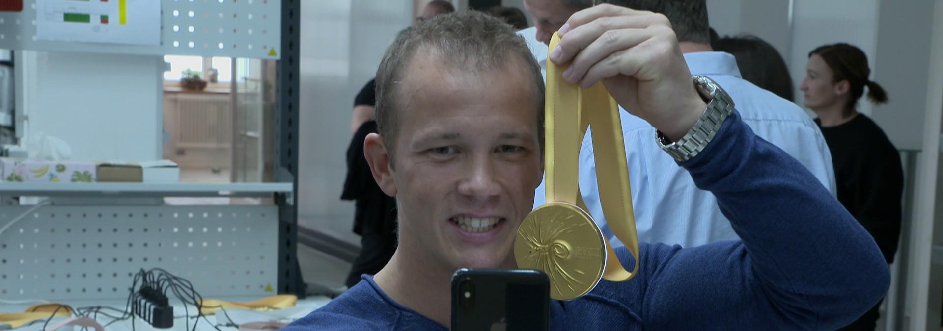 Fabian Hambüchen baut WM-Medaille