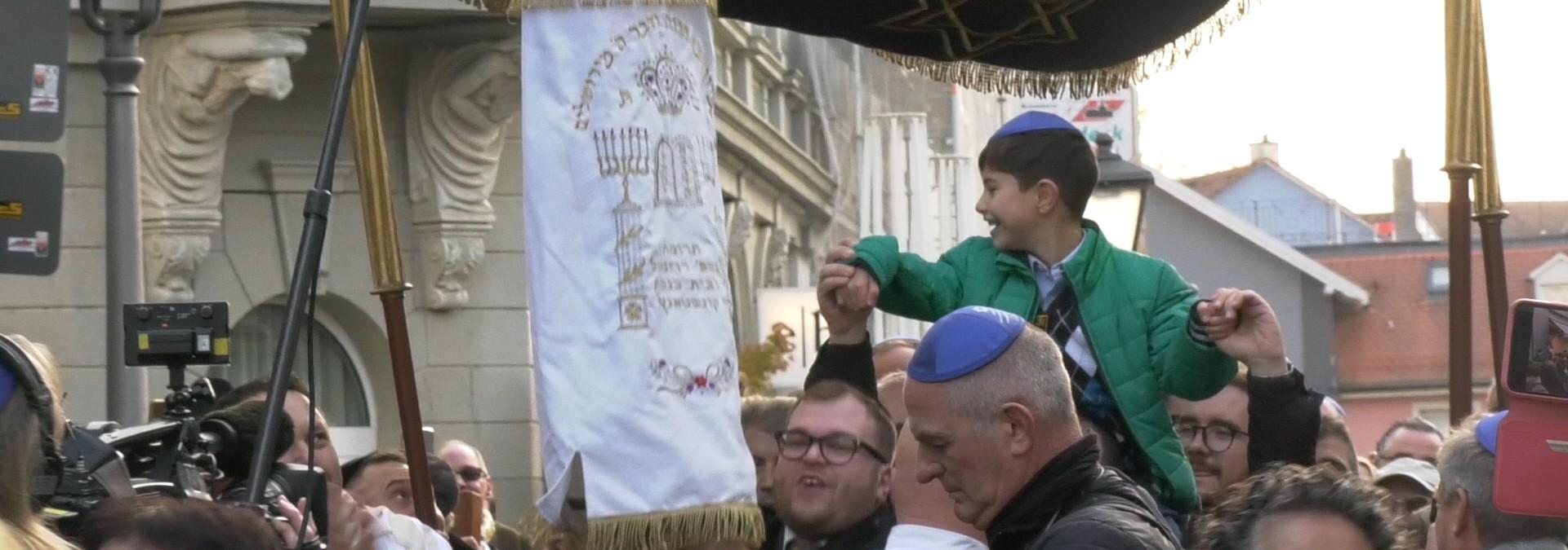 Juden feiern Neue Synagoge in Konstanz