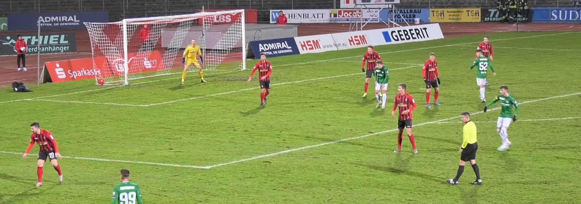 Kicker des SC Freiburg zu Gast in Pfullendorf
