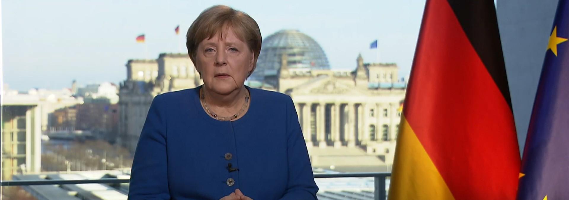 Angela Merkel: Danke, von ganzem Herzen