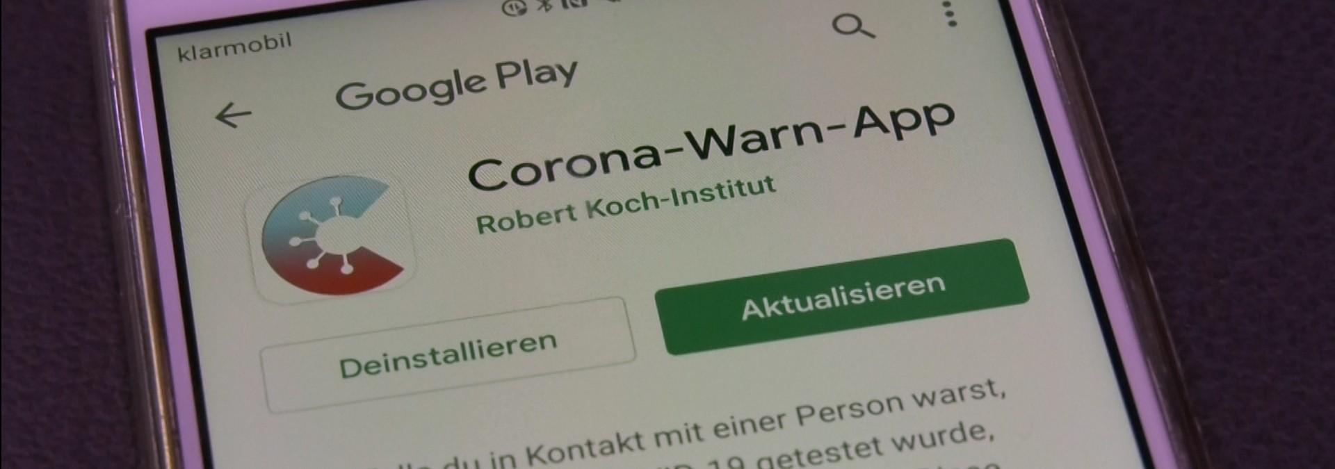 Neue Funktionen für die Corona-Warn-App