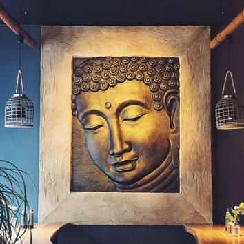 buddha kitchen bild innenbereich